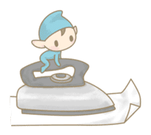 The Sewing Elf sticker #507081