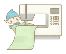 The Sewing Elf sticker #507084
