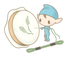 The Sewing Elf sticker #507092