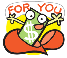 Money Loves sticker #507197