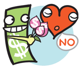 Money Loves sticker #507202