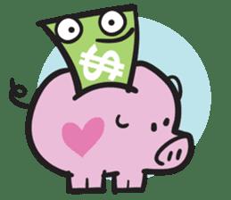 Money Loves sticker #507205