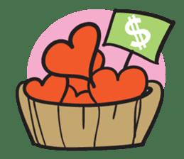 Money Loves sticker #507211