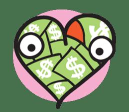 Money Loves sticker #507213
