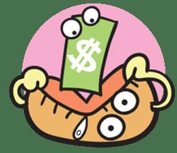 Money Loves sticker #507214