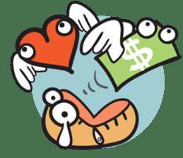 Money Loves sticker #507215