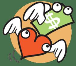 Money Loves sticker #507219