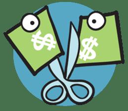 Money Loves sticker #507220