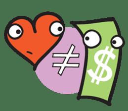 Money Loves sticker #507222