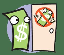 Money Loves sticker #507229