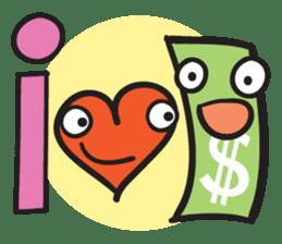 Money Loves sticker #507231