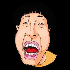Full funny Face