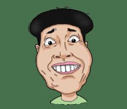 Full funny Face sticker #507400