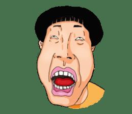 Full funny Face sticker #507401