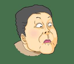 Full funny Face sticker #507402