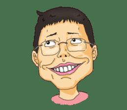 Full funny Face sticker #507411