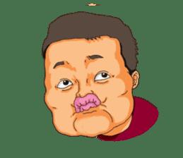 Full funny Face sticker #507417