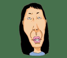 Full funny Face sticker #507422