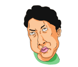 Full funny Face sticker #507425