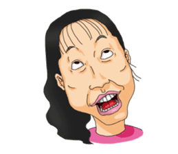 Full funny Face sticker #507429