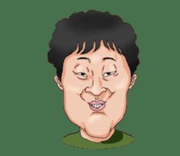 Full funny Face sticker #507432