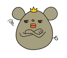 Relaxedly Mouse sticker #509196