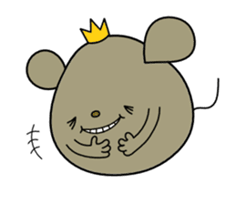 Relaxedly Mouse sticker #509200