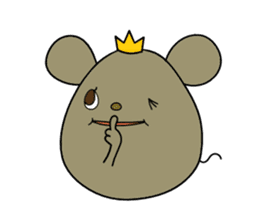 Relaxedly Mouse sticker #509211