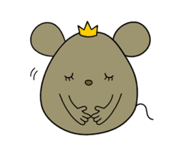 Relaxedly Mouse sticker #509213