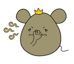 Relaxedly Mouse sticker #509216