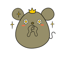 Relaxedly Mouse sticker #509217