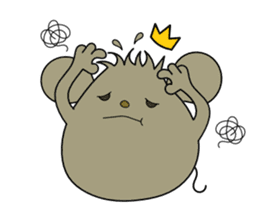 Relaxedly Mouse sticker #509221