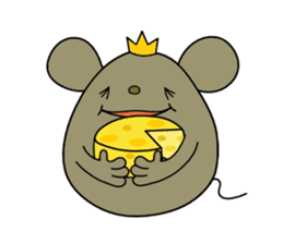 Relaxedly Mouse sticker #509227