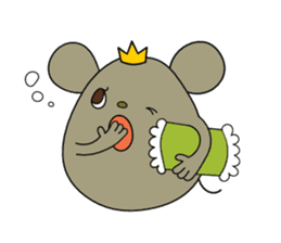 Relaxedly Mouse sticker #509228