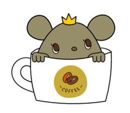 Relaxedly Mouse sticker #509229