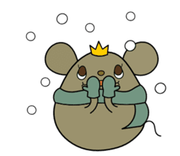 Relaxedly Mouse sticker #509233