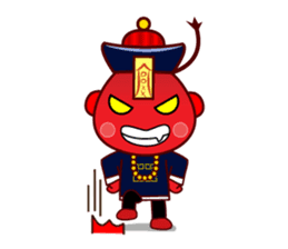 Chinese Little Zombie-Jumpster sticker #509749
