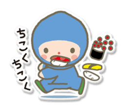 SUSHI NINJA! escape(j) sticker #510571