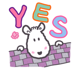 The Joy Sheep sticker #510679