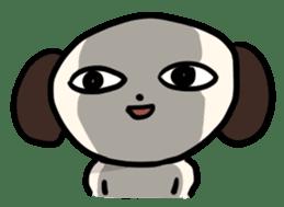 "The Dog, Named ""WanTarou"". sticker #510964"