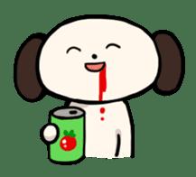 "The Dog, Named ""WanTarou"". sticker #510982"