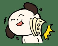 "The Dog, Named ""WanTarou"". sticker #510989"