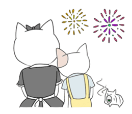 A maid cat and me sticker #511350