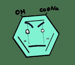 Mr benzene sticker #511606