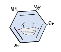Mr benzene sticker #511611
