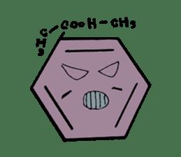 Mr benzene sticker #511622