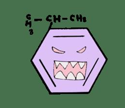 Mr benzene sticker #511623