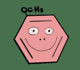 Mr benzene sticker #511626