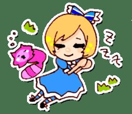 fairy tale girls sticker #511829