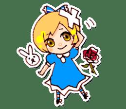 fairy tale girls sticker #511832